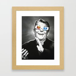 Reaganesque Framed Art Print