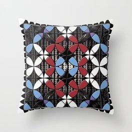 African Cowrie Shells Throw Pillow
