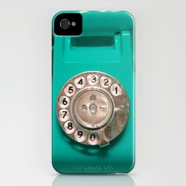 OLD PHONE - AQUA GREEN EDITION for Iphone iPhone Case