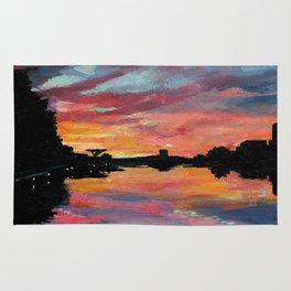 Lake Austin Sunset Rug