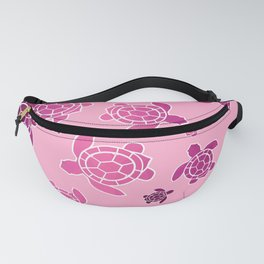 Pink Turtles Fanny Pack