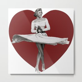 My Lovely Date Metal Print