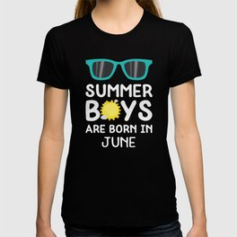 Summer Boys in JUNE T-Shirt for all Ages D91qc T-shirt