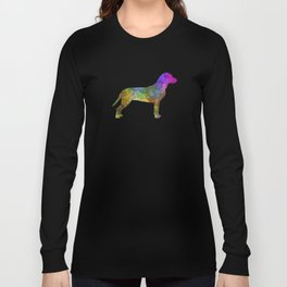 Slovakian Hound in watercolor Long Sleeve T-shirt