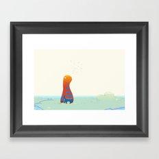 Herp Framed Art Print