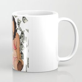 The Players Club. Make the money, don't let it make you Coffee Mug