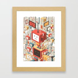 Multi Identity Framed Art Print