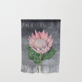Protea Flower Painting Wall Hanging