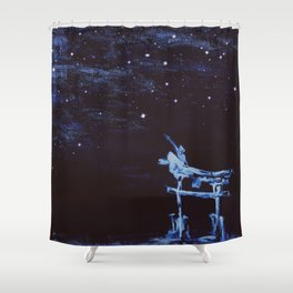Reaching for Stars Shower Curtain