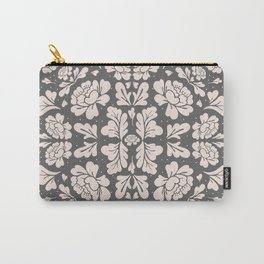 Floral Mirror Carry-All Pouch