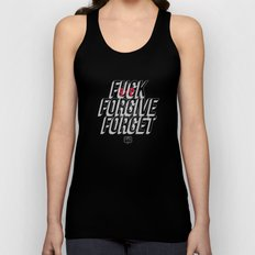 Fuck Forgive Forget Unisex Tank Top