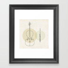 Duet Framed Art Print