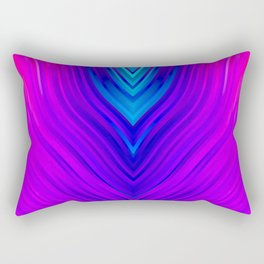 stripes wave pattern 3 s60 Rectangular Pillow