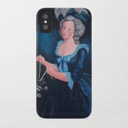Marie Antoinette, Roller Girl iPhone Case