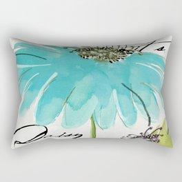 Daisy Morning I Rectangular Pillow