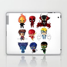 Chibi Heroes Set 2 Laptop & iPad Skin