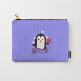 Penguin table tennis from MELBOURNE T-Shirt Carry-All Pouch