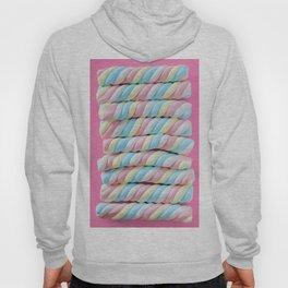 Pastel Rainbow Marshmallow Candy Hoody