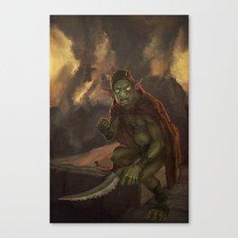 Goblyn Chief Canvas Print