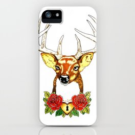 Oh deer. iPhone Case