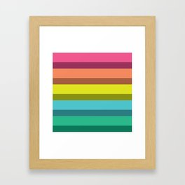 Accordion Fold Series Style C Framed Art Print