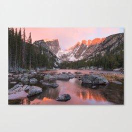 Dream Lake Sunrise Canvas Print