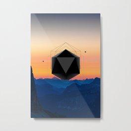 Sunrise Intruder Metal Print