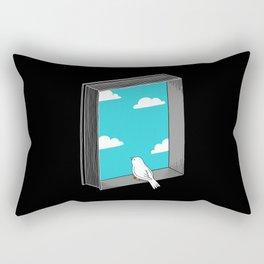 Every book a window Rectangular Pillow