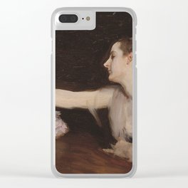 John Singer Sargent - Madame Gautreau Drinking A Toast Clear iPhone Case
