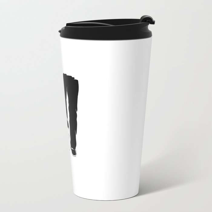 Till the love runs out Metal Travel Mug
