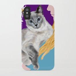 Tasha with the Flower Goddess iPhone Case