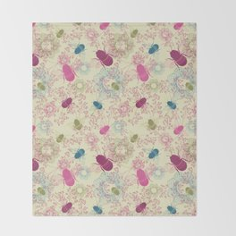 Busy Bees Throw Blanket