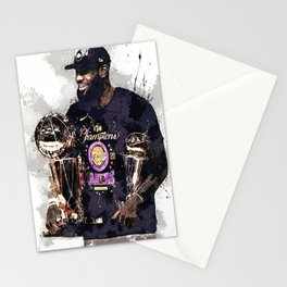 Leb-ron James championship poster, La-kers champions painting for Wall Art Decor, Gym, canvas, Office Decorations, kids, man cave, gift Stationery Cards