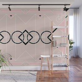Art Deco - Neutral Pink Wall Mural