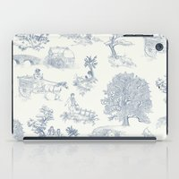 tolkien iPad Cases featuring Shire Toile by Jackie Sullivan