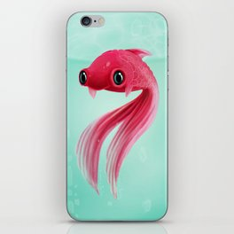 Little Fish Coy Koi iPhone Skin
