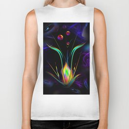 Abstract perfection - Atrium 100 Biker Tank