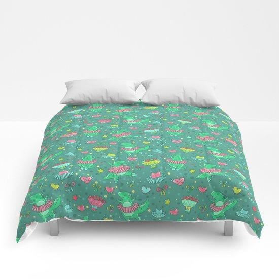 Dino ballet Comforters