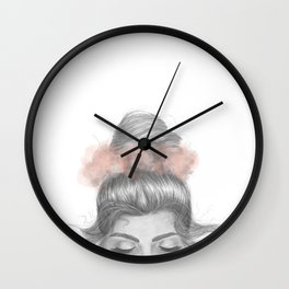 Sinking thoughts Wall Clock