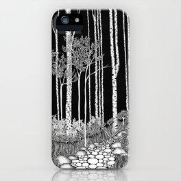 Trees II iPhone Case
