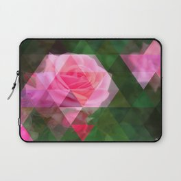 Pink Roses in Anzures 1 Art Triangles 1 Laptop Sleeve