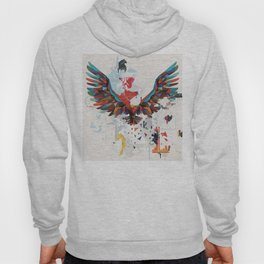 Let Your Ideas Take Off - A big Leap of faith - Soaring Eagle Hoody