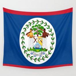 flag of belize-Belice, Belizean,Belize City,beliceno,Belmopan Wall Tapestry