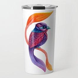 Looking Toward a Feathered Future Travel Mug
