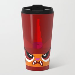 No Frowny Faces Travel Mug