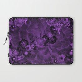 Flowers in the dark Laptop Sleeve