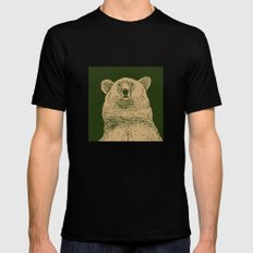 Kodiak Bear Mens Fitted Tee Black MEDIUM