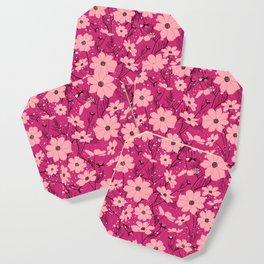 Cosmea pink Coaster