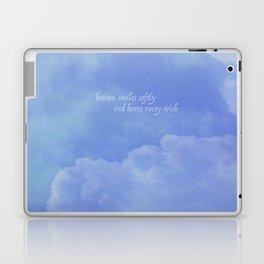 heaven smiles softly Laptop & iPad Skin