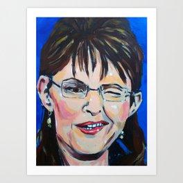 Taliban Republican: Sarah Palin Art Print
